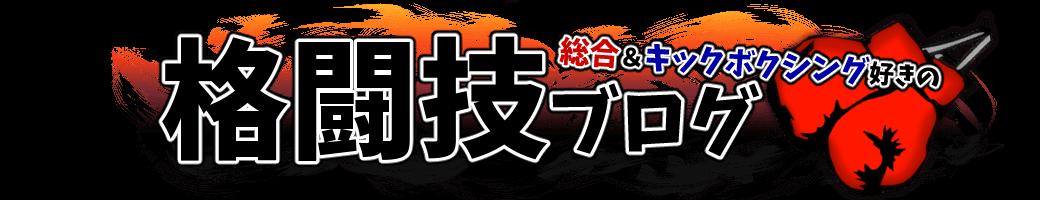 総合&キックボクシング好きの格闘技ブログ